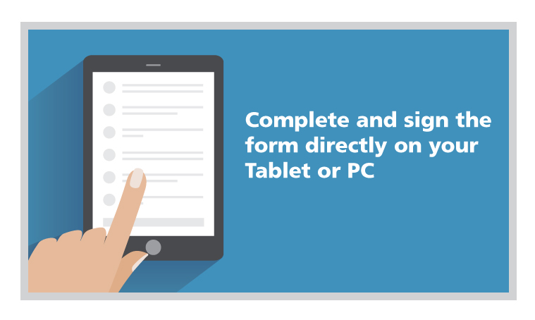 Complete and Sign Medical Forms